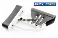 Army Force CNC Full Adjust Stock For M4/M16 Series AEG (SV) AF-ST0030