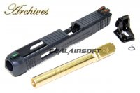 Archives WEI-E CNC Aluminum Custom Slide For WE G34 GBB Gold Barrel AH0010