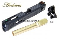 Archives WEI-E CNC Aluminum Custom Slide For WE / Marui G18C GBB Gold Barrel AH0012