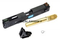 Archives WEI-E Custom Slide for WE G18C GBB (Gold Barrel)