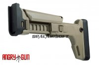 Angry Gun SCAR ACR Stock Adaptor Kit for WE SCAR-L & MK17 GBB (Dark Earth) ANGRY-ACRSK-FDE