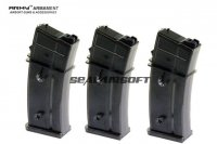 ARMY 30 Rds For ARMY R36 / WE G39 GBB Spare Magazine 3PCS ARMY-MAG-R36-3PCS