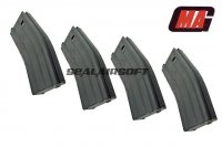 MAG 170rd Magazine for SYSTEMA PTW M4 / M16 Series AEG (4pcs) ART-MAG-027