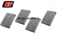 MAG 190rd Real Finish METAL Magazine for M14 AEG (4pcs) ART-MAG-030