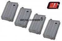 MAG 90rd VN Short Magazine for SYSTEMA PTW AEG (4pcs) ART-MAG-033