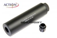 ACTION S.T. Silencer With Adaptor For HK3P PX4 GBB AT-AD-03A