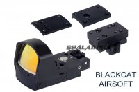 Blackcat PD Red Dot Sight Set (Black) BCAT-S-001B
