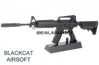 Blackcat Mini Non-Function Dummy Model Gun For Display - M4A1 Black BCA-MG-006B
