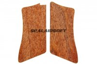 Bell Real Wood Grip For G17 Series BELLG17M