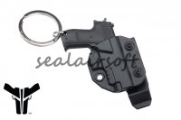 Blade-Tech Mini Pistol Key Chain With Holster & Clip BTH-PART-KEY-HOL