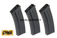 CYMA 130rds Mid-Cap Magazine For CYMA Galil CM043 Series CYMA-C.87-3PCS