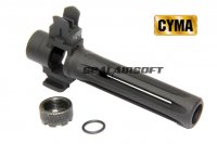 CYMA Metal Front Sight With Flash Hider Set For M14 CM032 AEG CYMA-HY130