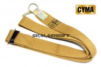 CYMA 1 Point Rifle Sling For AK Series Dark Earth CYMA-HY137
