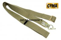 CYMA 1 Point Rifle Sling For AK Series Olive Drab CYMA-HY138