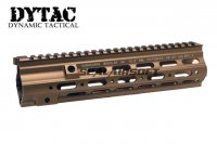 DYTAC G Style 10.5inch SMR Rail For WE 416 AEG/GBB (Dark Earth) DY-RAS14-WE-DE