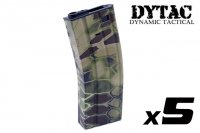 DYTAC Water Transfer 300rd Magazine For M4 AEG (Kryptek Highlander, 5pcs Pack) DY-WT26-V-HL