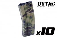 DYTAC Water Transfer 300rd Magazine For M4 AEG (Kryptek Highlander, 10pcs Pack) DY-WT26-X-HL