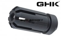 GHK Metal Flash Hider For G5 GBB Series (14mm CCW / Black) GHK-G5-01