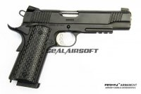 Army Metal R28 Kimber Warrior GBB Pistol (Black) ARMY-GN-R28BK