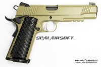 ARMY Kimber Warrior R28 METAL Airsoft GBB Pistol (TAN) ARMY-GN-R28TAN