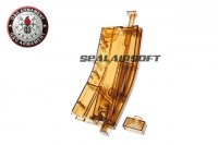 G&G 420rd M4 Magazine Style BB Loading Tool (Transparent Brown) GYGY-08-100-1
