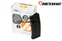 Hexmag 120rd Magazine For Systema PTW/DTW/CTW AEG (5pcs Pack, Black) HMA-MAG02V-BK