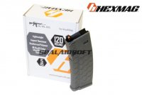 Hexmag 120rd Magazine For Systema PTW/DTW/CTW AEG (5pcs Pack, OD) HMA-MAG02V-OD