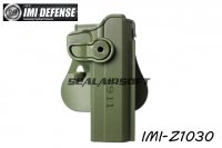 IMI Defense Roto / Retention Paddle Holster For 1911 5 inch (Olive Drab) IMI-Z1030-OD