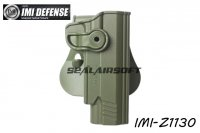 IMI Defense Roto / Retention Paddle Holster For Taurus PT 1911 & PT 1911 With Rail (Olive Drab) IMI-Z1130-OD