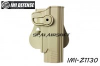 IMI Defense Roto / Retention Paddle Holster For Taurus PT 1911 & PT 1911 With Rail (Tan) IMI-Z1130-TN
