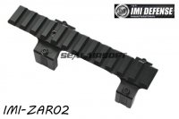 IMI Defense MP5TR - H&K MP5 Top Rail System (Black) IMI-ZAR02-BK