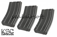 KSC 120 Rounds Magazine for M4A1 ERG Series (3pcs Pack) KSC-MG-61-120