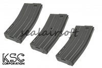 KSC 30/60 Rounds Magazine for M4A1 ERG AEG Series (3pcs Pack) KSC-MG-61-60