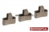 Magpul 7.62 NATO Magazine Rubber (3 pack) - Dark Earth MA008450813