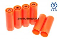 PPS Plastic Shell Case For M870 Pump Action Shotgun (6pcs) PPS-0067