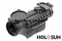 Holosun HS402A-Rail 1x30 Red Dot Sight Scope with Side Rail SC-0271