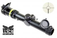 BOG 1.5-6X24 OPTIC FIBRE Illuminated Rifle Scope With Mount (GREEN) SC-0335A