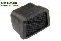 SE GEAR Airsoft Protective Lens Cover With Mesh For 551 Dot Sight BK SE-CR0006A