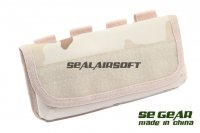 SE GEAR Airsoft Molle Shotgun Rifle Ammo Shell Pouch Desert Camo SE-DT-PH002B