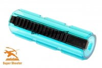 Super Shooter Full Steel 15 Teeth Piston (Clear Blue) SHS-018