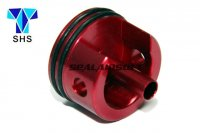 SHS Aluminum Short Type Cylinder Head For Ver.2 M4 Gearbox (Red, Padded Bottom) SHS-023