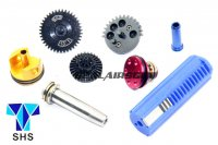 SHS New Type CNC Super Speed-Up Gear Full Tune-Up Set For G36/G36C AEG (3 Teeth Piston) SHS-258