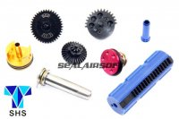 SHS New Type CNC Super Speed-Up Gear Full Tune-Up Set For G36/G36C AEG (15 Teeth Piston) SHS-260