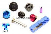 SHS New Type CNC 16:1 Speed-Up Gear Full Tune-Up Set For AK AEG (7 Teeth Piston) SHS-262