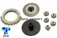 SHS PTW CNC STEEL Gear Set For Systema PTW Series AEG SHS-274