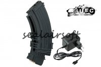 UFC 1200rd Electric Double Magazine for AK47/AK74 Series AEG UFC-BA-MG-09A