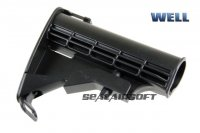 WELL 6 Position Sliding Stock For HK416 / M4 Series AEG WELL-AC045