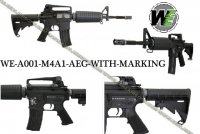WE M4A1 AEG (WITH MARKING)