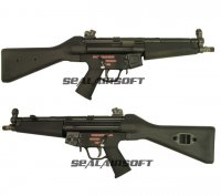 WE APACHE A2 (MP5A2) Gas Blowback SMG