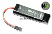 WE 8.4v 1600mAh NIMH Small Type Battery (Mini Plug) WE-BAT0001